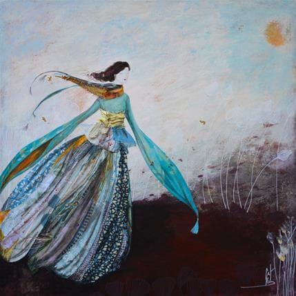 Catherine Rebeyre Danse avec le vent 36 x 36 cm