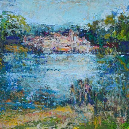 Catherine Vaudron La Durance 19 x 19 cm