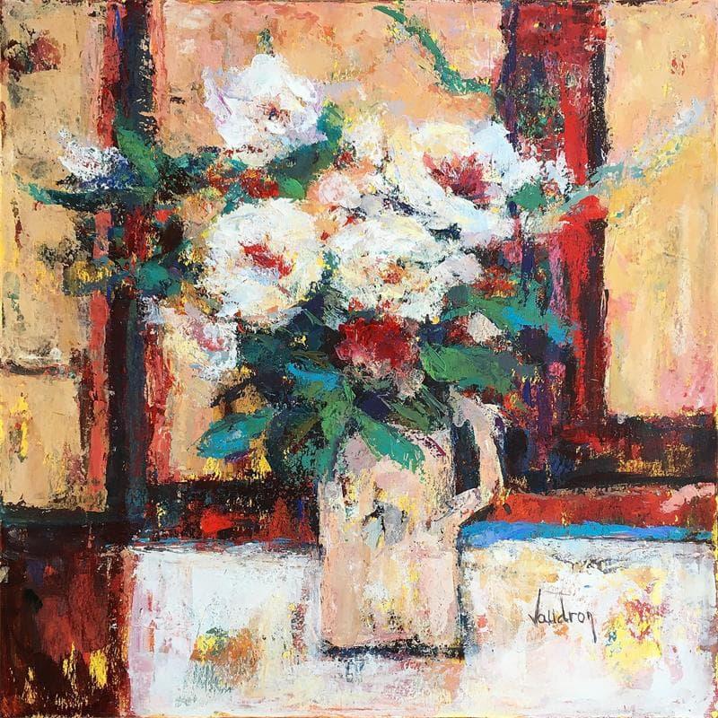 Un bouquet dans l'atelier