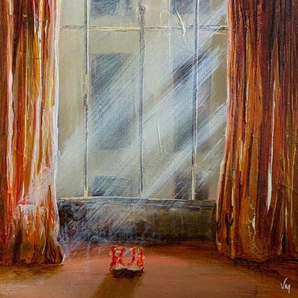 Virginie Mezan de Malartic La place 19 x 19 cm