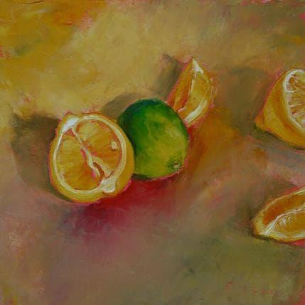 Géraldine Morales Citrons 36 x 36 cm