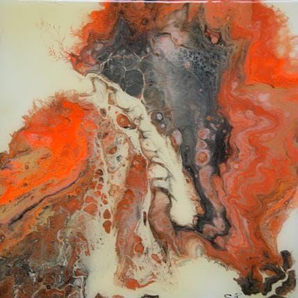 Christine Pacaud Long satay 25 x 25 cm