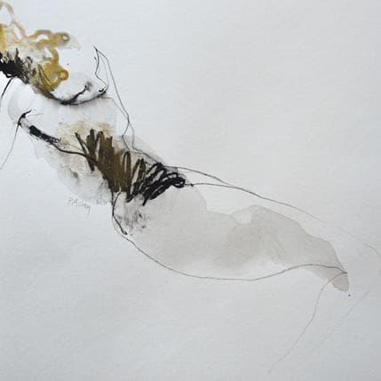 Corine Pagny Geste nu 36 x 36 cm