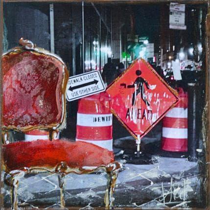 Anne Pivot-Iafrate Passage pieton 13 x 13 cm