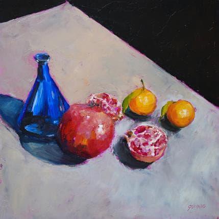 Géraldine Morales Fruits exotiques 3 36 x 36 cm