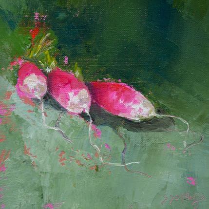 Géraldine Morales Radis 13 x 13 cm