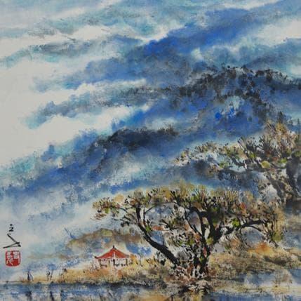 San Qian Blue touch 25 x 25 cm