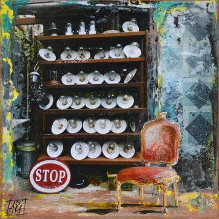 Anne Pivot-Iafrate Lampe à huile 19 x 19 cm