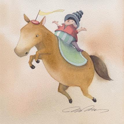 Masako Masukawa Circus Horse 19 x 19 cm