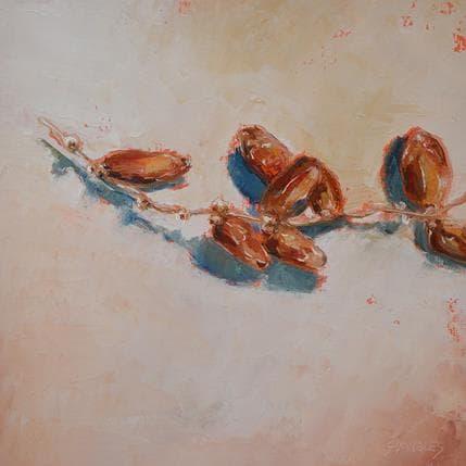 Géraldine Morales Dattes 25 x 25 cm