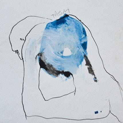 Corine Pagny Geste nu 13 x 13 cm