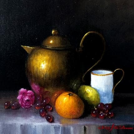 Chico Souza Sweet morning 25 x 25 cm