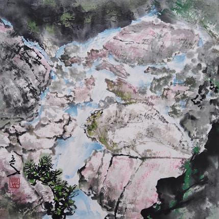 Sanqian Precious rocks 19 x 19 cm