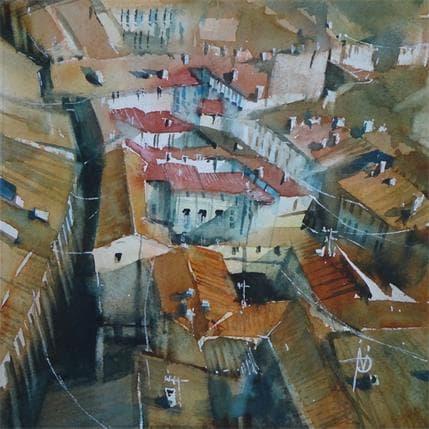 Violaine Abbatucci DEPUIS LA TOUR D'ORGUEIL 19 x 19 cm