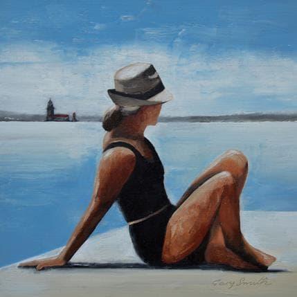 Gary Smith Sunbathing 25 x 25 cm