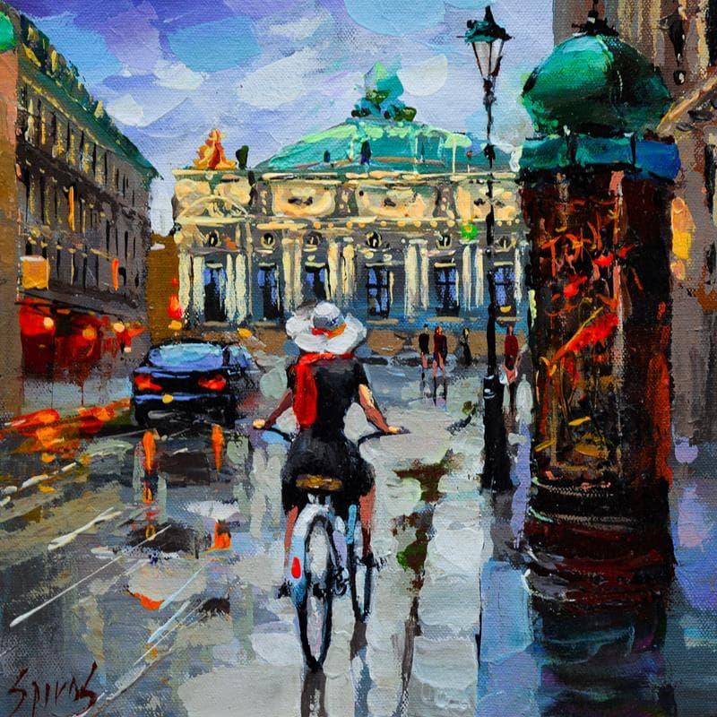 Paris after rain