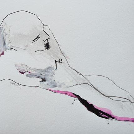 Corine Pagny Geste nu 19 x 19 cm