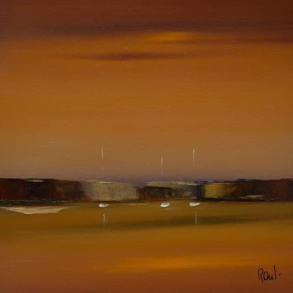 Marie-Ange et Fanny Roussel Horizon marin 25 x 25 cm