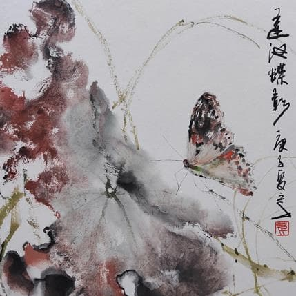 San Qian Absorption 19 x 19 cm