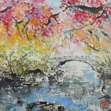 San Qian Late autumn 13 x 13 cm