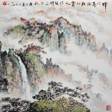 San Qian Autumn memory 36 x 36 cm