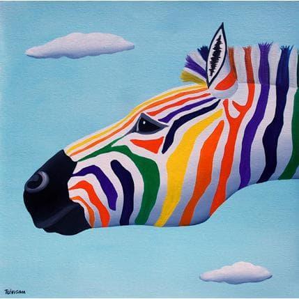Carlo Trévisan Rain bow 36 x 36 cm