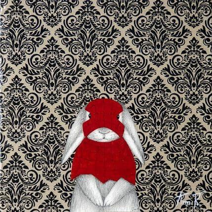 Ann R Spider rabbit 19 x 19 cm