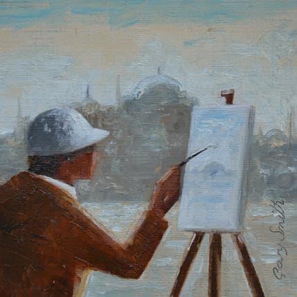 Gary Smith Canvas 13 x 13 cm