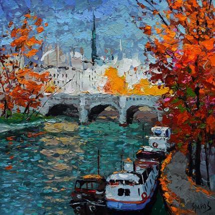 Dmitry Spiros Autumn mood 36 x 36 cm