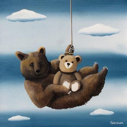 Trevisan Carlo Mother bear 25 x 25 cm
