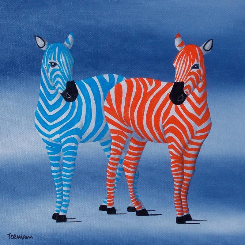 Zebras in color