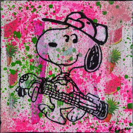 Kikayou Snoopy golf 13 x 13 cm