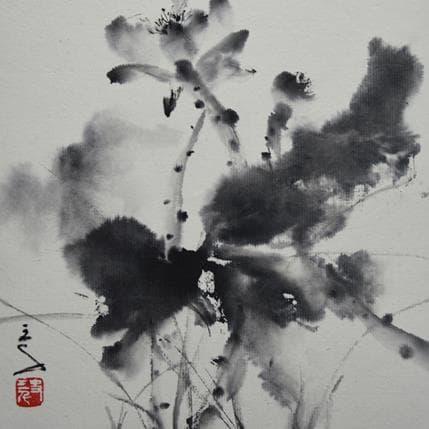 San Qian Lotus flowers 19 x 19 cm