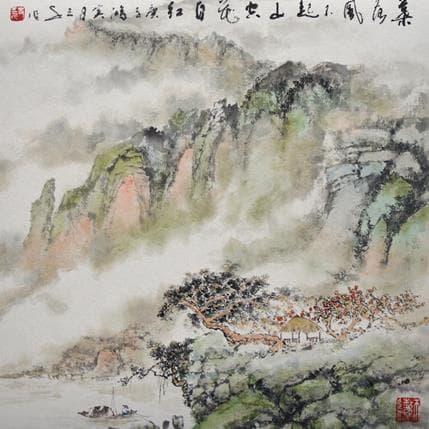 Sanqian Romance 36 x 36 cm