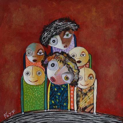 Florence Thoirey Fourcade Singriel 19 x 19 cm