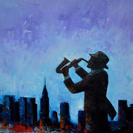 Gary Smith City Jazz 36 x 36 cm