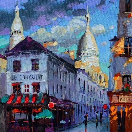 Dmitry Spiros Parisian cityscape 19 x 19 cm