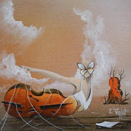Lionel Valot Rencontre céleste 13 x 13 cm