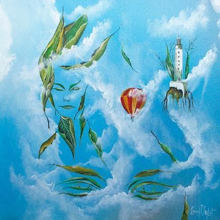 Lionel Valot Dans les yeux du ciel 36 x 36 cm