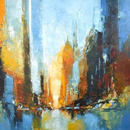 Daniel Castan Metropolitan life building 100 x 100 cm