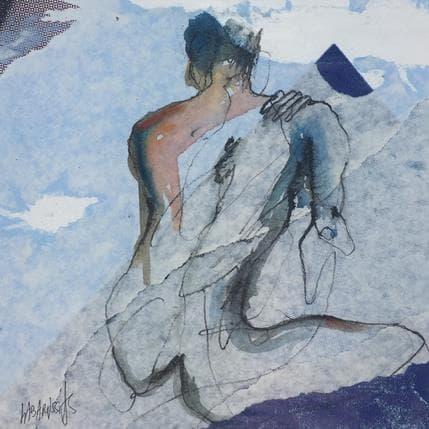 Corinne Labarussias L'horizon 10 25 x 25 cm