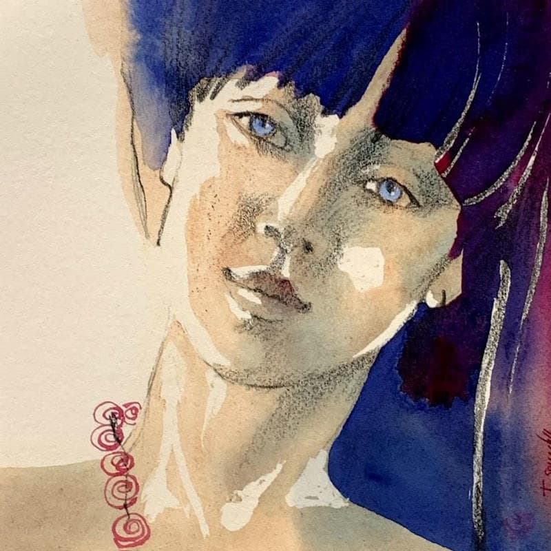 Small paintings Figurative Watercolor</h2>