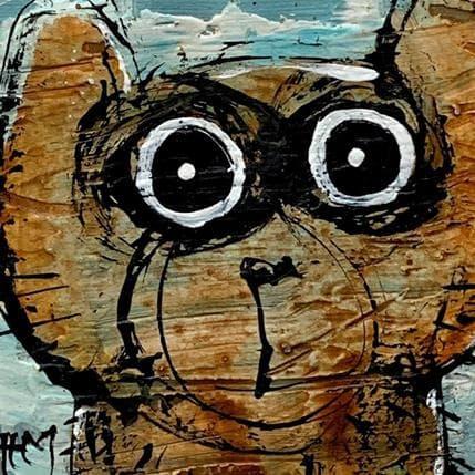 Hervé Maury Cat 13 x 13 cm