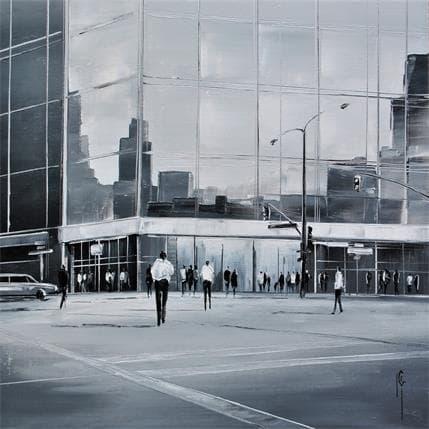 Maurizio Galloro La marche urbaine 25 x 25 cm