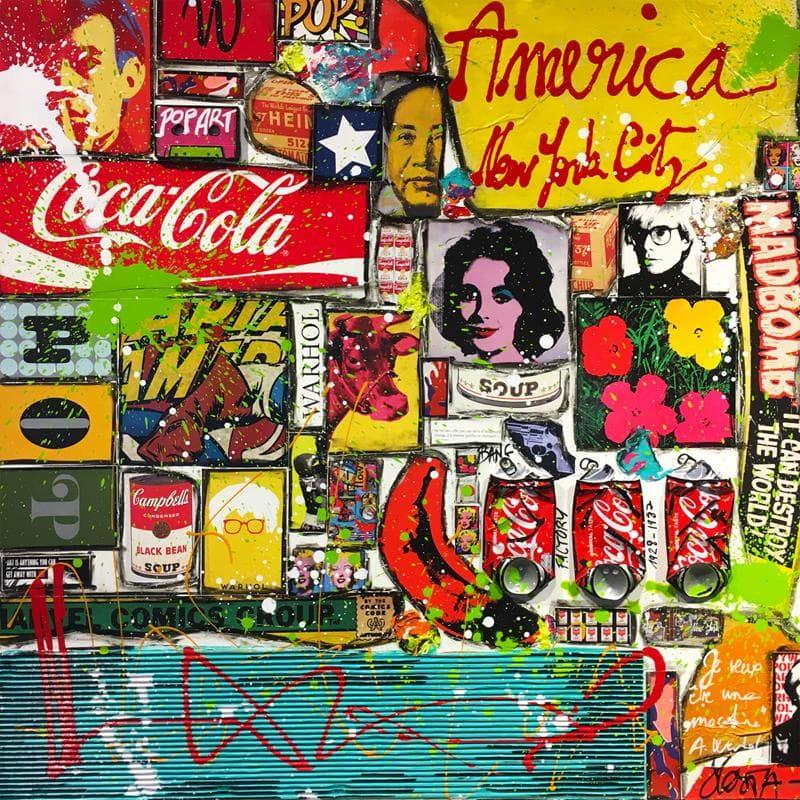 Warhol america (tribute to A.Warhol)