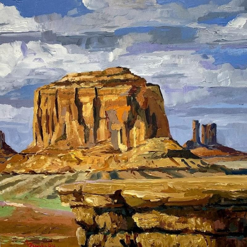 Cliffs in the valley