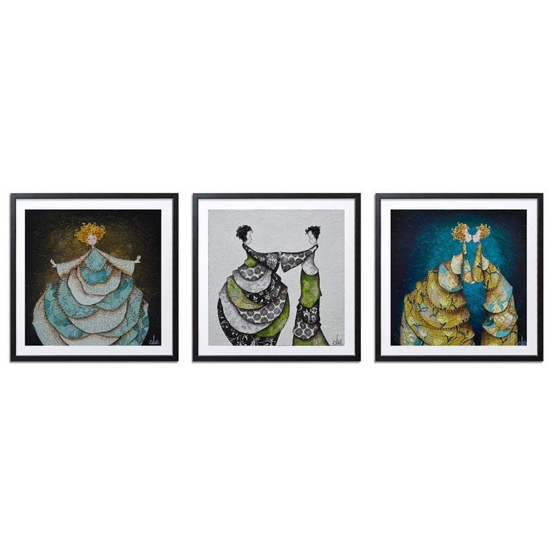 Triptych- Juliette et Antonia