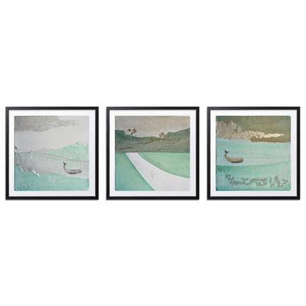 Gaia Roma Triptych - Green