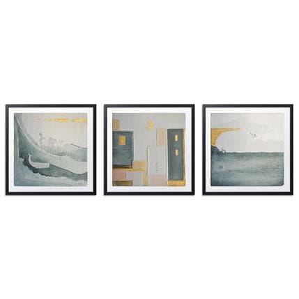 Gaia Roma Triptych - Grey