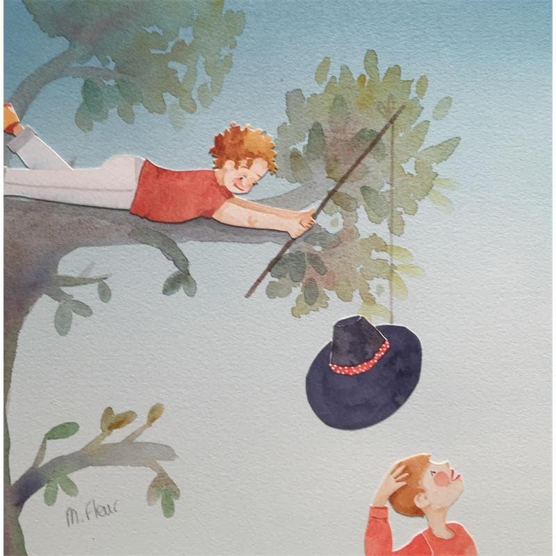 La pêche au chapeau